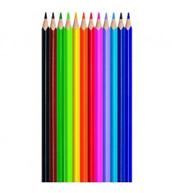 Олівець кольоровий асорті, Kite