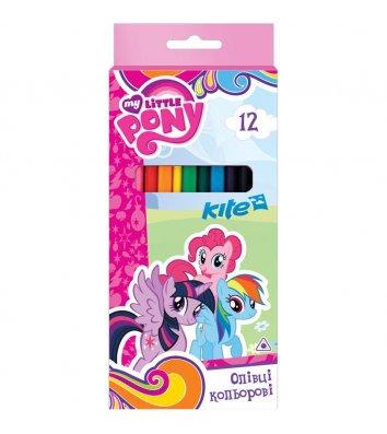 """Олівці кольорові 12шт тригранні """"Little Pony"""", Kite"""