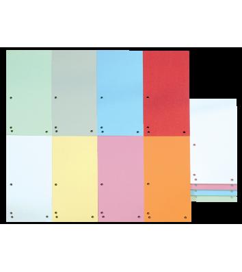 Розділювачі аркушів картонні 100шт кольорові асорті, Donau