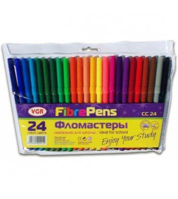 """Фломастеры  24 цвета """"Happy Kids"""", VGR"""