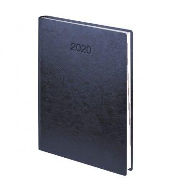 Ежедневник датированный A6 2018 карманный Denim бирюзовый, Brunnen
