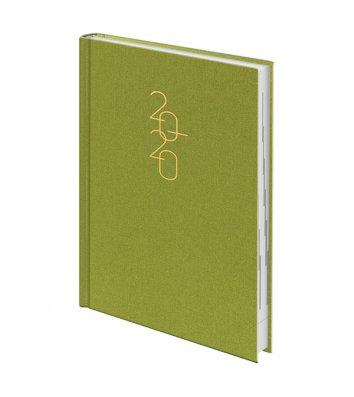 Щоденник датований A5 2020 Glam салатовий, Brunnen