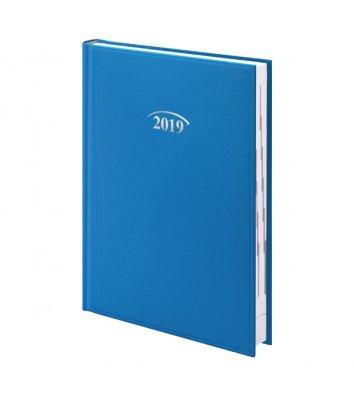 Щоденник датований A5 2018 Стандарт Miradur блакитний, Brunnen