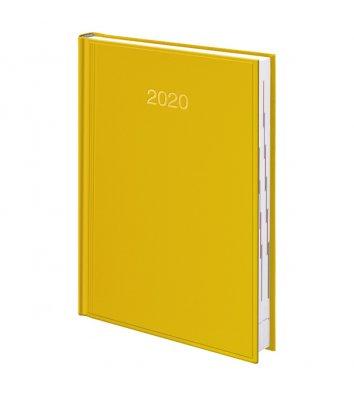 Щоденник датований A5 2020 Miradur Trend жовтий, Brunnen