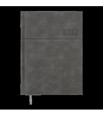 Щоденник датований A5 2022 Orion сірий, Buromax