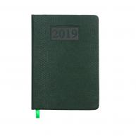 Щоденник датований А6 2019 Amazonia зелений, Buromax