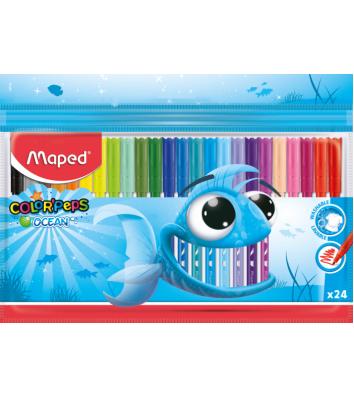 "Фломастеры 24 цвета ""Color Peps Ocean"", Maped"
