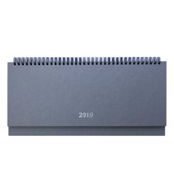 Планинг датированный 2019 Strong серый, Buromax