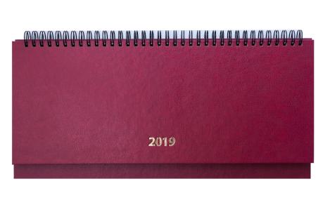 Планінг датований 2019 Strong бордовий, Buromax