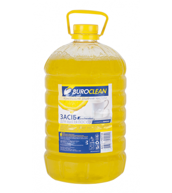 Засіб для миття посуду BuroClean EuroStandart  5л, лимон