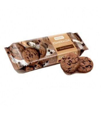 """Печиво """"Есмеральда"""" какао з шоколадними кусочками 150г, Roshen"""
