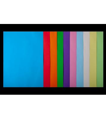 Набір паперу А4 80г/м2 50арк кольоровий 10 кольорів пастельний/інтенсивний, Buromax