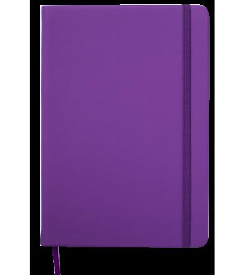 Щоденник датований А5 2019 Touch Me на гумці фіолетовий, Buromax