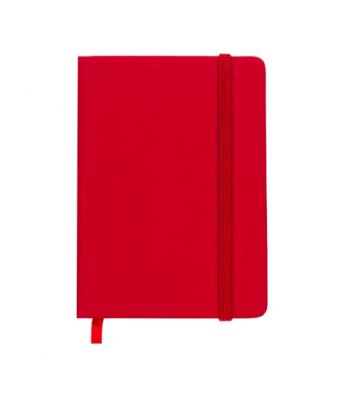 Ежедневник недатированный А6 Touch Me красный, Buromax