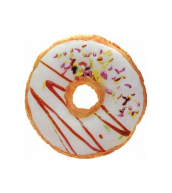 """Подушка сувенірна """"Пончик шоколадний"""", Toyko"""