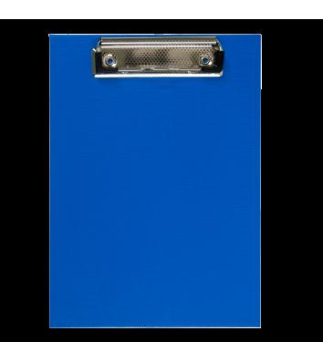 Планшет А5 з притиском PVC темно-синій, Buromax