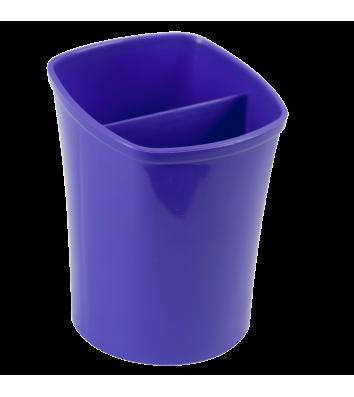 Підставка канцелярська пластикова фіолетова Kvadrik, Zibi