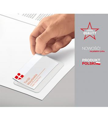 Кишеня для візитної картки самоклеюча 100*60мм, Panta Plast
