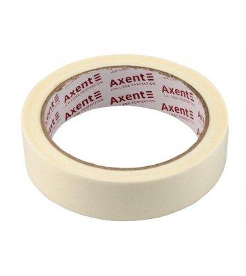 Стрічка клейка 24мм*20м малярна біла, Axent