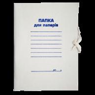 Папка А4 паперова на зав'язках 300мг/м2, Buromax