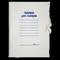 Папка А4 бумажная на завязках 300г/м2, Buromax