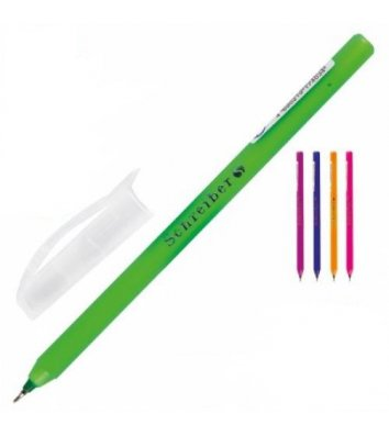 Ручка масляна колір чорнил синій 0,7мм, Schreiber
