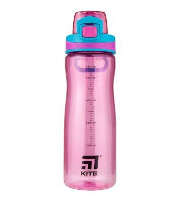 Бутылочка для воды 650 мл розовая, Kite