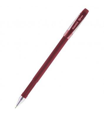 Ручка гелева Forum, колір чорнил червоний 0,5мм, Axent