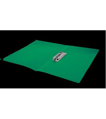Папка А4 пластиковая с зажимом Clip B зеленая, Buromax