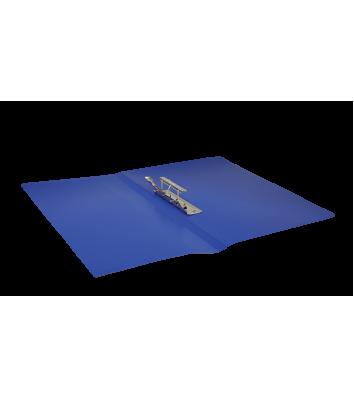 Папка А4 пластикова з затиском Clip B синя, Buromax