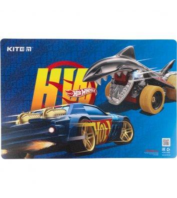 """Килимок для дитячої творчості  А3 пластиковий """"Hot Wheels"""", Kite"""