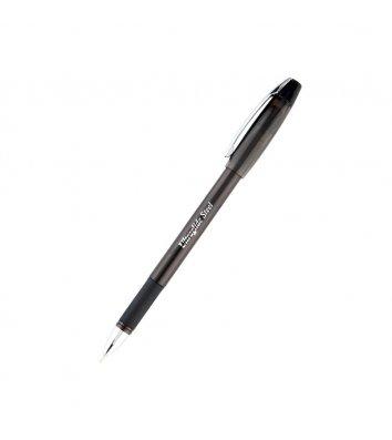 Ручка масляная Ultraglide Steel, цвет чернил черный 0,7мм, Unimax