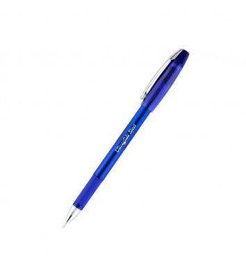 Ручка масляна Ultraglide Steel, колір чорнил синій 0,7мм, Unimax