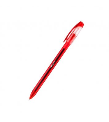 Ручка гелева Trigel, колір чорнил червоний 0,5мм, Unimax