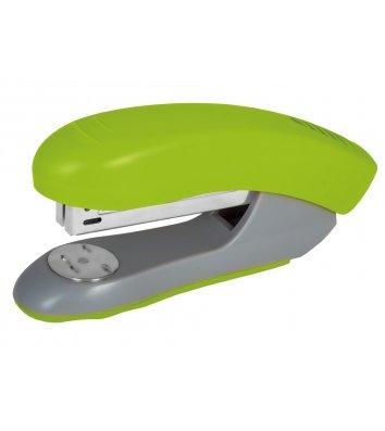 Степлер 30л скобы 24/6, 26/6 пластиковый корпус салатовый, Economix