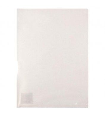 Папка-уголок А4 пластиковая прозрачная, Axent