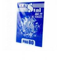 Папір офісний A4 80г/м2 100арк клас С Crystal Pro, білий