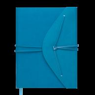 Щоденник недатований A5 Bella бірюзовий, Buromax