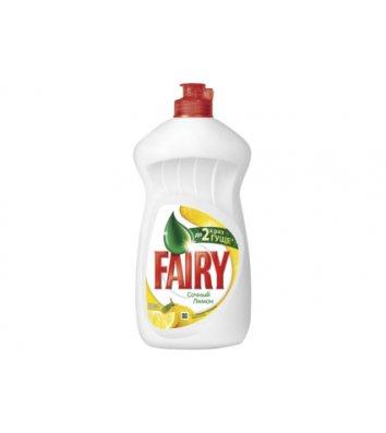 Средство для мытья посуды Fairy 500мл, апельсин и лимонник