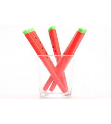 Ручка гелевая пиши-стирай Арбуз, цвет чернил синий 0,5мм