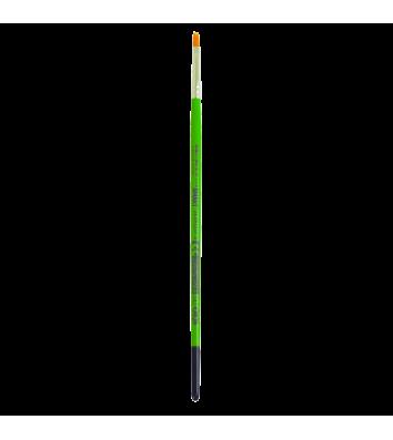 Пензлик  №4 синтетика (нейлон) плаский