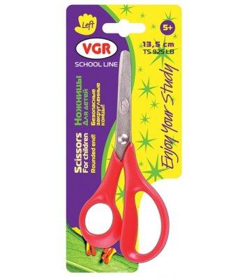 Ножиці дитячі 13,5см для шульги ручки пластикові, VGR