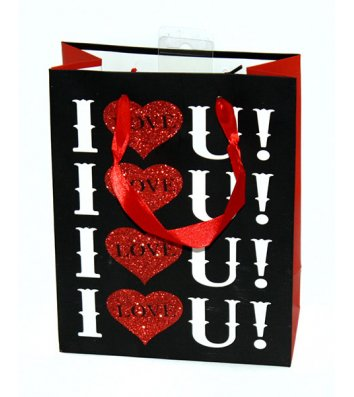 Пакет подарунковий паперовий  18*24*8см, Angel Gifts