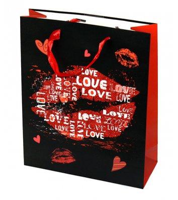 Пакет подарунковий паперовий  26*32*10см, Angel Gifts