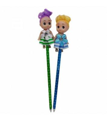 """Ручка шариковая """"Кукла"""" ассорти"""