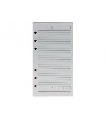 Сменный блок для бизнес-органайзера 95*175мм, Optima