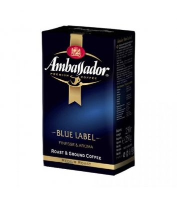 Кава мелена Ambassador Blue Label 250г