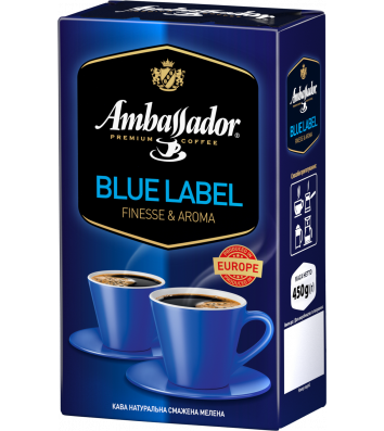 Кава мелена Ambassador Blue Label 230г