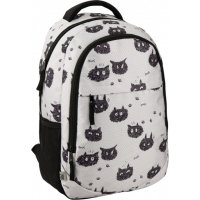 Рюкзак молодежный GoPack Education Black cats, Kite