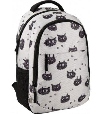 Рюкзак молодіжний GoPack Education Black cats, Kite
